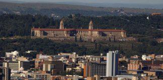 Prétoria en Afrique du sud