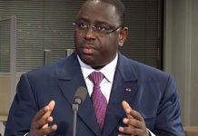 Le président Sénégalais