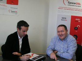 Afrique Telecom philippe Tintignac avec Thierry Barbaut et info Afrique