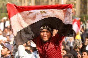 EGYPT-POLITICS-UNREST-FLAG