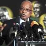 Jacob Zuma, le président d'Afrique du Sud parle de l'état de santé de Mandela