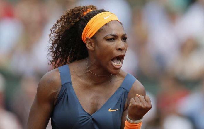 Serana Williams Rolland-Garros