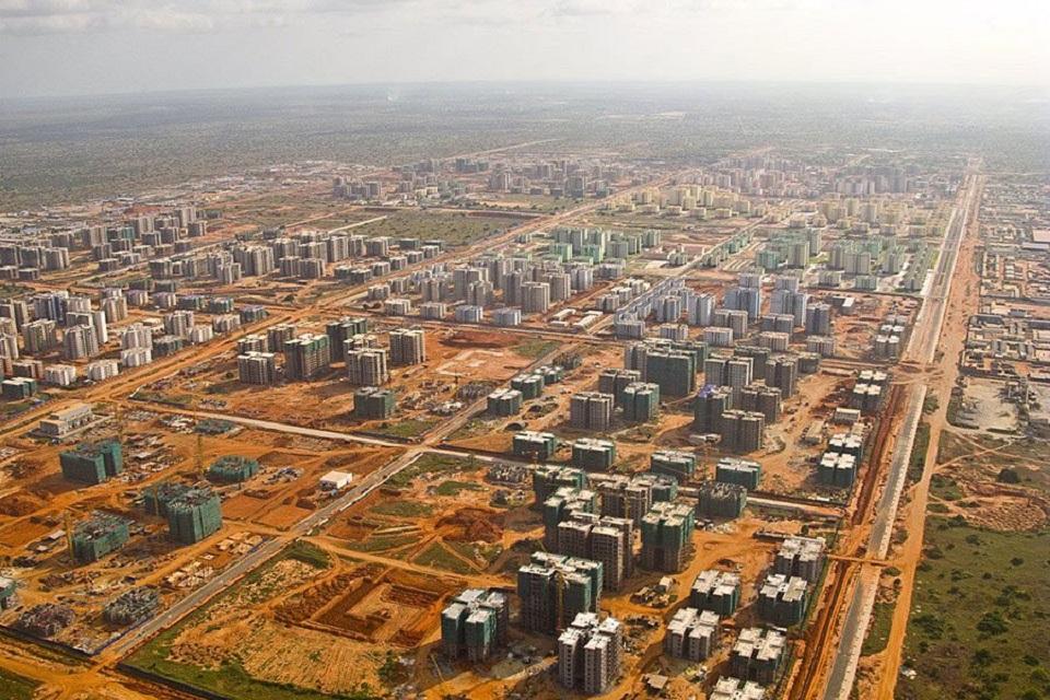 ville Chinoise en Angola