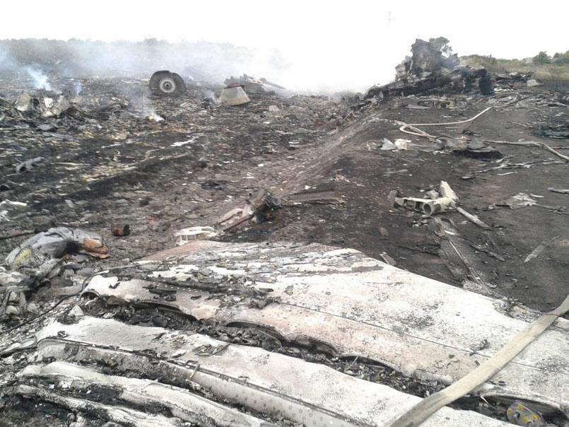 MH17 de la Malaysian Airlines