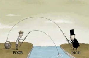 ONG riches et pauvres