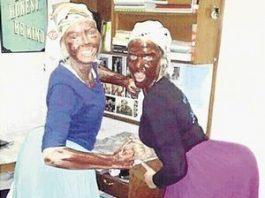 Blackface Afrique du Sud
