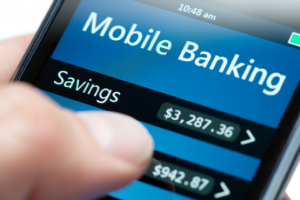 An example of application of Mobile Banking