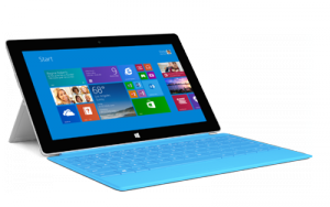 The tablet Microsoft Surface