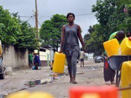 corvée deau en RDC