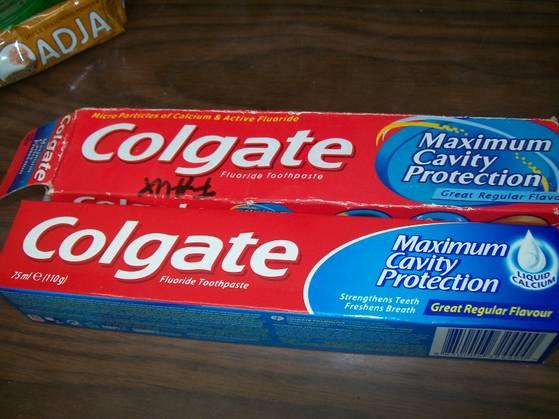 """Le faux """"Colgate"""" un best seller Africain..."""