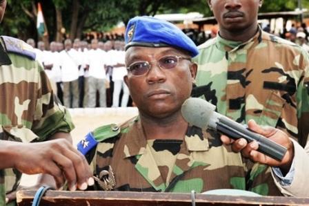 Le général Soumaila Bakayoko en Côte d'Ivoire