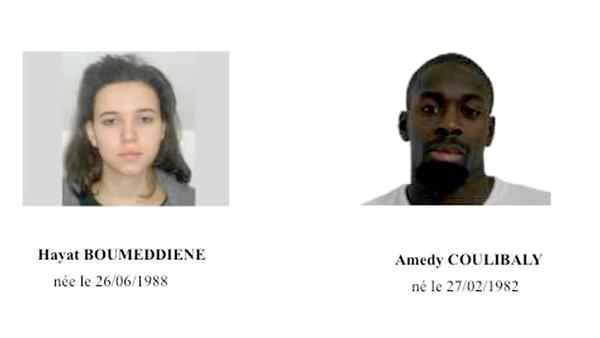 Hayat Boumeddiene Amedy Coulibaly