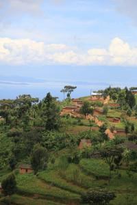 Magnifiques paysages Rwandais, lac Kivu - Crédits photos: Thierry Barbaut