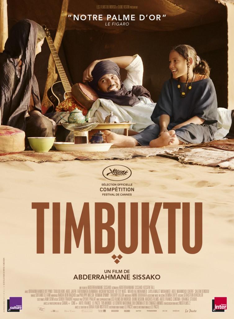 L'affiche du film Timbuktu, d'Abderrahmane Sissako