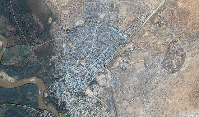 La ville de Garissa à l'est du Kenya