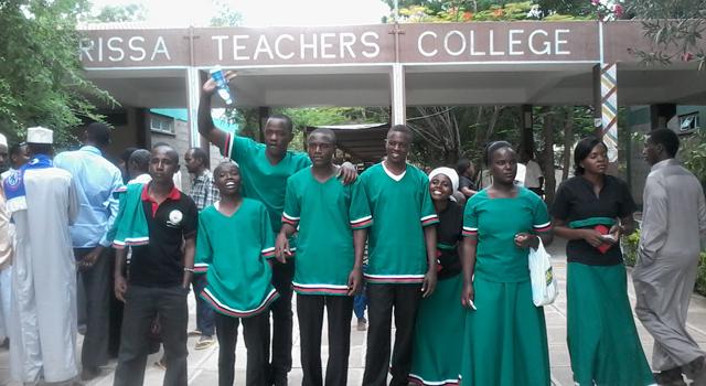 Le campus de l'University College de Garissa au Kenya
