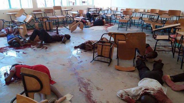 Les étudiants assassinés par les Shebabs dans l'université de Garissa au Kenya