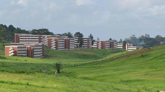 L'université de Cocody en Côte d'Ivoire