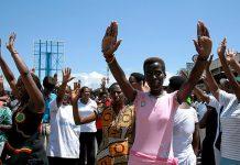 Les femmes manifestent à Bujumbura au Burundi