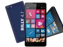 Le modèle YEZZ Billy 4.7 est disponible avec Windows Phone