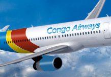 Le nouveau Airbus de Congo Airways est arrivé à Kinshasa