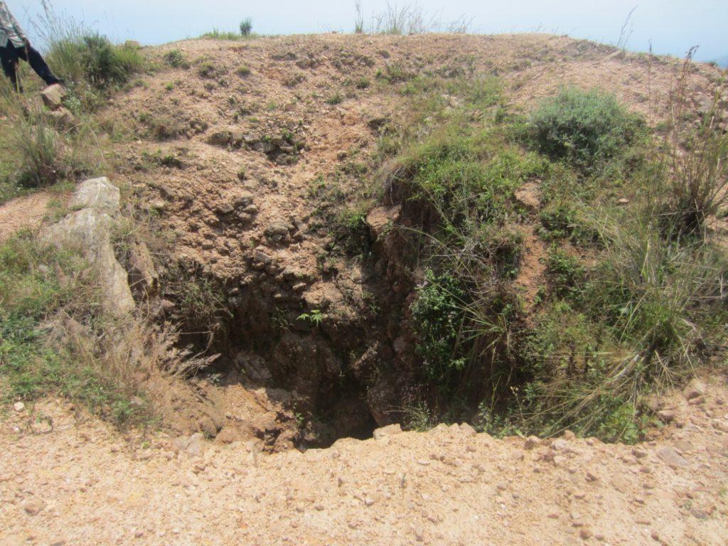 Recherche du trésor minéral sur la colline Mboza en province de Bujumbura