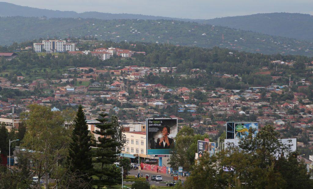 Vue de Kigali - Crédits photo Thierry Barbaut www.barbaut.com