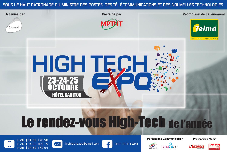 Madagascar high tech expo le salon ntic for Salon des nouvelles technologies