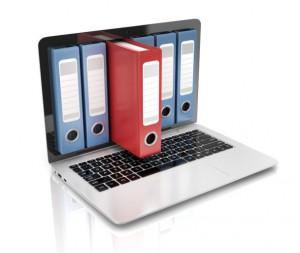 La dématérialisation permet le stockage des dossiers informatiquement