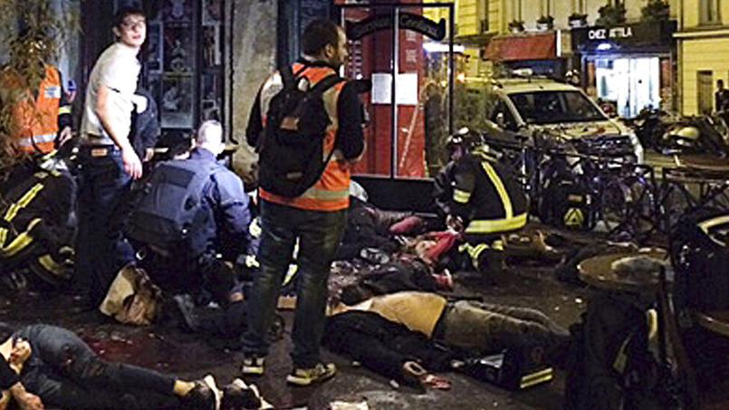 L'horreur en plein Paris - Photo des attaques terroristes