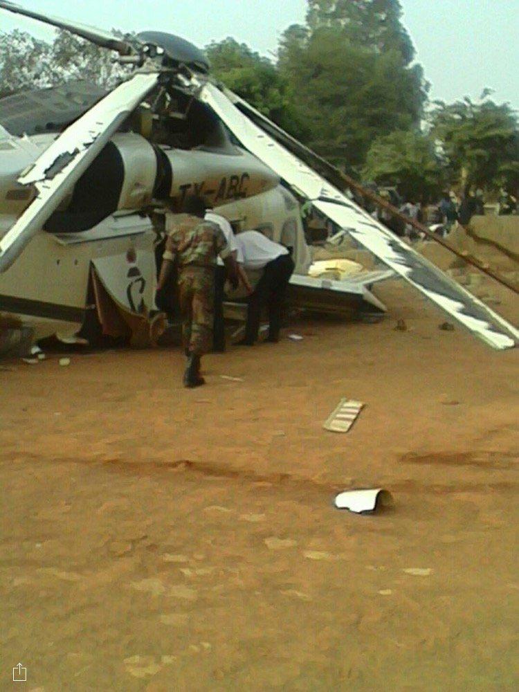 L'hélicoptère s'est écrasé à Djougou au nord du Né,in avec Lionel Zinsou à bord