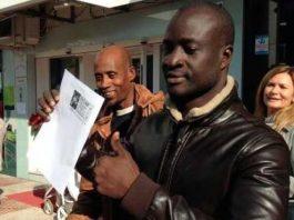 M. Ngame, Sénégalais à remporté 400 000 euros à la loterie Espagnole