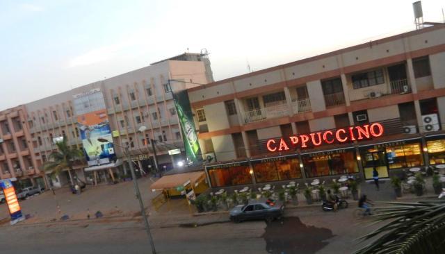 Le bar restaurant Cppuccino ou a eu lieu la deuxième attaque terroriste