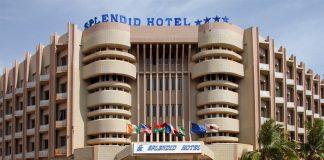 Le Splendid Hôtel de Ouagadougou ou a eu lieu l'attaque terroriste