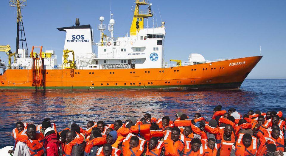Bildergebnis für migrants méditerranée