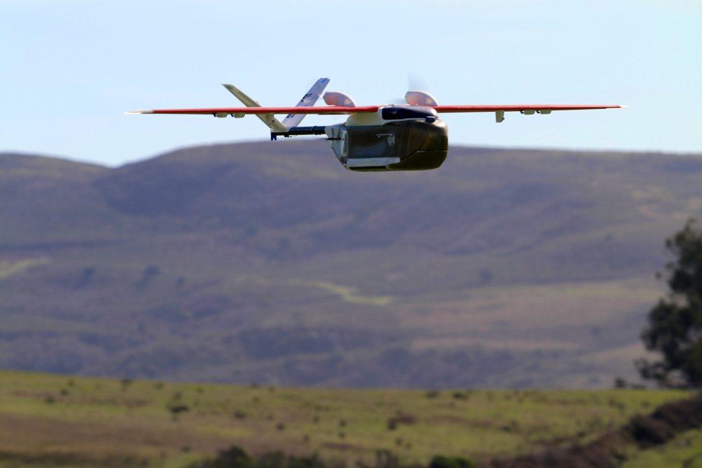 Un drone Zipline au Rwanda
