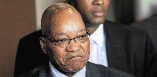 Le président d'Afrique du Sud Jacob Zuma