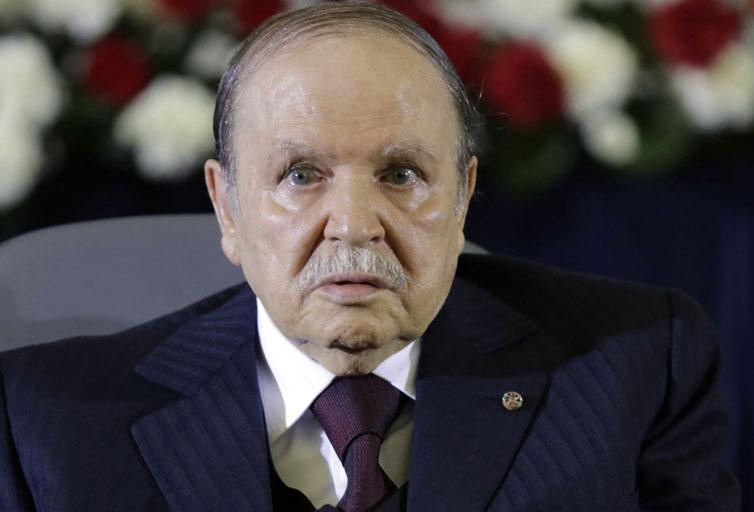 President Abdelaziz bouteflika, le président de l'Algérie