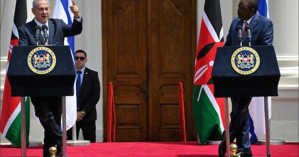kenya-benyamin-netanyahou-partenaire-afrique