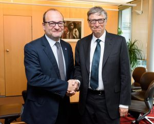 Rémy Rioux et Bill Gates