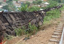 Le terrible accident de train au Cameroun entre Douala et Yaoundé