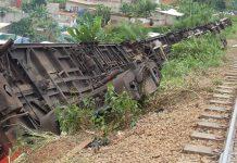 Le terrible accident de train au Cameroun entre Douala et Yaoundé