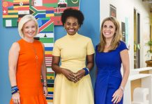 Carolyn Everson – VP Global Marketing Solutions Facebook, Nunu Ntshingila – directeur régional de Facebook pour la région Afrique, Nicola Mendelsohn – VP EMEA Facebook