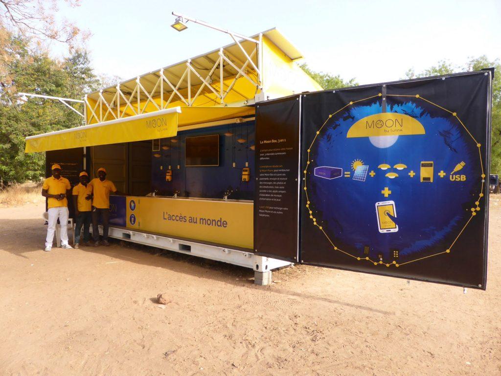 Le conteneur MOON de Sunna Design