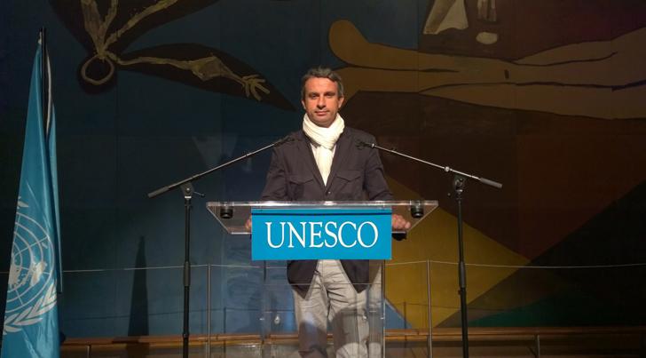 Thierry Barbaut s'exprime à l'UNESCO sur les droits des femmes en Afrique