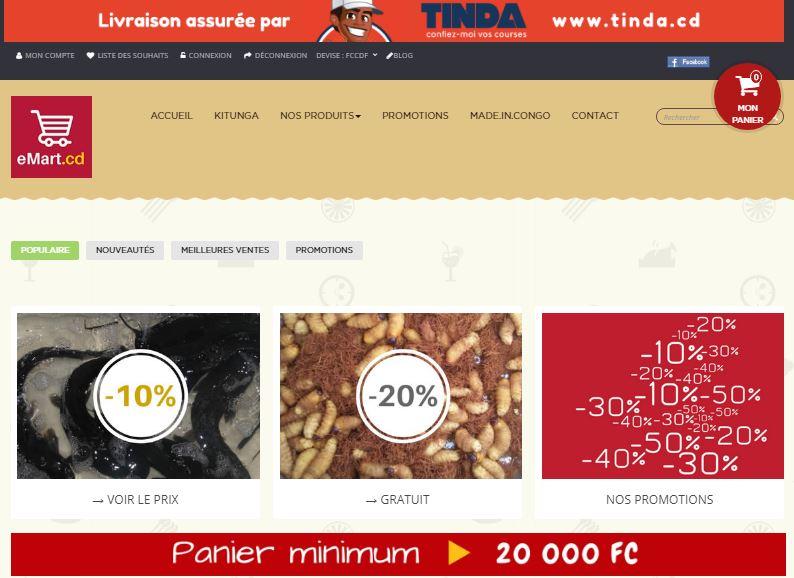 eMart.cd la plateforme de e-commerce en RDC République Démocratique du Congo