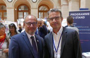 Thierry Barbaut avec Rémy Rioux, Directeur Général de l'Agence Française de Développement