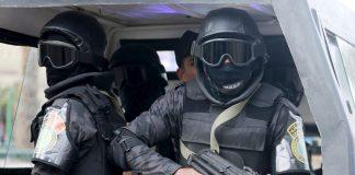 Forces spéciales en Egypte