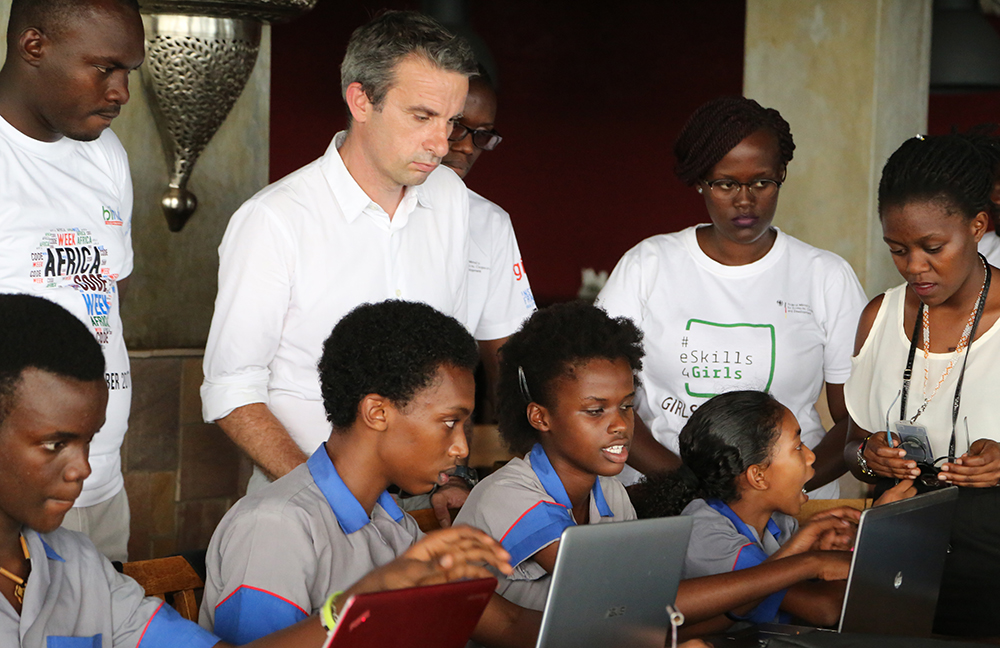 Africa Code Week à Bujumbura - Thierry Barbaut