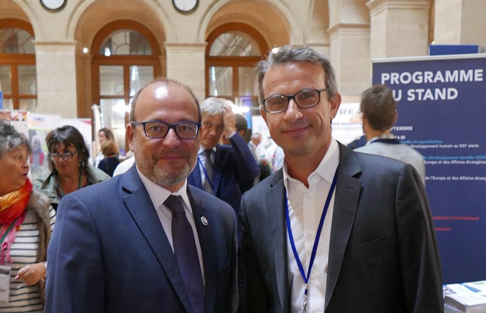 Rencontre avec Rémy Rioux - Thierry Barbaut Paris septembre 2017